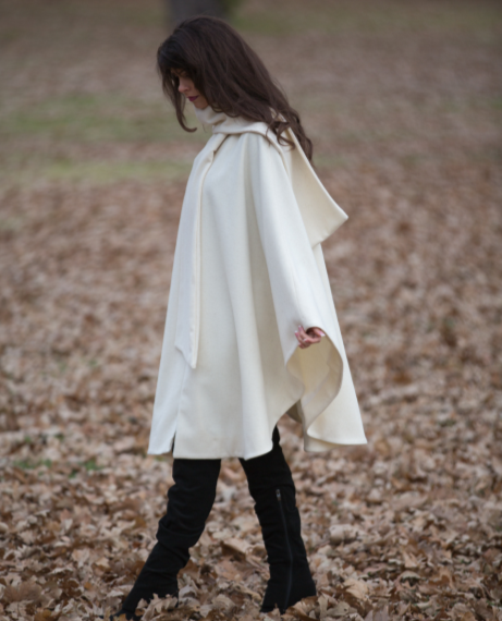 winter white cape
